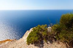 Seaview von Cap de Formentor lizenzfreie stockfotografie