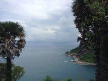 Seaview w phomthep przylądka phuke Obrazy Royalty Free