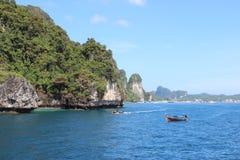 Seaview w Tajlandia na Ko phi phi wykładowcy wyspie Obrazy Stock