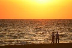 Seawalk осени Стоковая Фотография