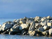 seawall Στοκ φωτογραφία με δικαίωμα ελεύθερης χρήσης