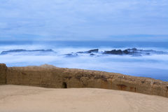 Free Seawall And Ocean Stock Photography - 50019672