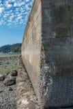 Seawall Erosion Stock Photos