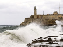 Seawall,havana Stock Photos