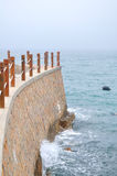 The seawall Stock Images