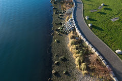 Seawall, Yaletown, Vancouver, Canada Stock Images