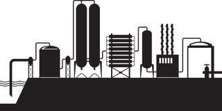 Seawater desalination plant Royalty Free Stock Image