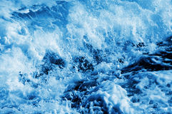 Seawater splashing Royalty Free Stock Photo