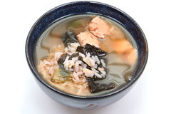 Seaweed Albacore Gumbo Stock Photo