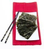 seaweed alga seca no fundo imagens de stock royalty free