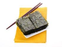 seaweed alga seca no fundo fotografia de stock