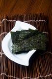 seaweed alga seca no fundo fotografia de stock royalty free