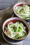 Seaweed and crab sticks  salad Stock Images