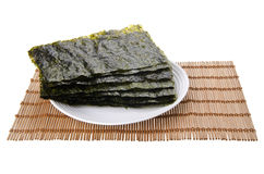 Seaweed. dry seaweed on background. Seaweed. dry seaweed on the background Royalty Free Stock Photography