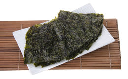 Seaweed. dry seaweed on background Stock Photos