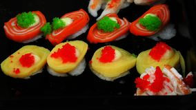 Sushi healthy food royalty free stock photos