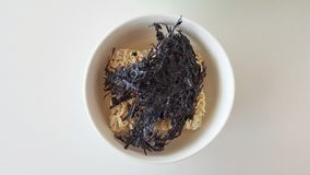 The  Seaweed instant noodle Stock Image