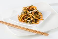 Seaweed Salad Royalty Free Stock Photography