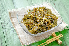 Seaweed salad Royalty Free Stock Photos