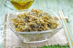 Seaweed salad Stock Photos