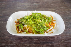 Seaweed Salad ,Japanese Cuisine Stock Photography