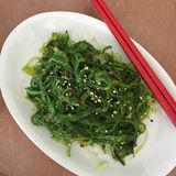Seaweed salad Royalty Free Stock Photo