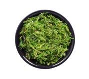 Seaweed Salad Plate Stock Image