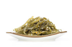 Seaweed Salad on a plate Stock Photography