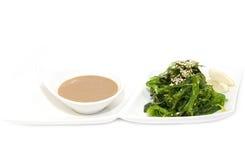 Seaweed salad stock images