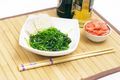 Seaweed with sesame Royalty Free Stock Image