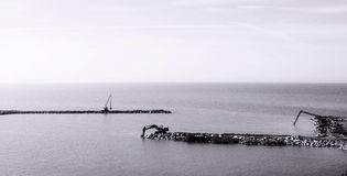 Seawork Zdjęcie Stock