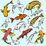 Seaworld illustration series Royalty Free Stock Images