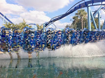 SeaWorld Orlando Manta stock images