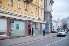 SEB Bank Branch in Vilnius, Litauen Lizenzfreies Stockbild
