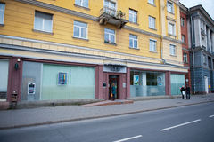 SEB Bank Branch in Vilnius, Litauen Lizenzfreies Stockfoto