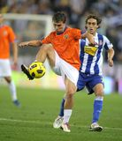 Seba F. M. of Malaga CF Royalty Free Stock Photo