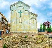 Sebaste的四十个受难者教会在第比利斯 图库摄影