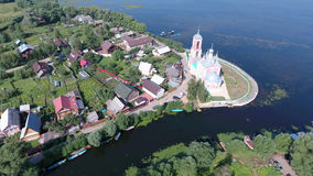 Η εκκλησία των 40 μαρτύρων Sebaste σε pereslavl-Zalessky CI Στοκ Εικόνες