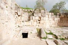 Sebastia archeology ancient ruins royalty free stock photography