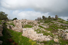 Sebastia archeology ancient ruins Royalty Free Stock Images
