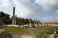 Sebastia archeology ancient ruins Royalty Free Stock Photo