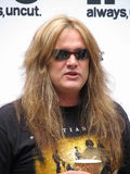 Sebastian Bach. Is a heavy metal singer of Canadian origin, ex-frontman of Skid Row, a group very popular in the late 1980s and early 1990s. The group's most Stock Photo