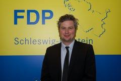 Sebastian Blumethal medlem av Bundestagen, royaltyfria foton