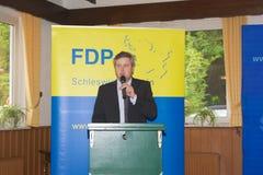 Sebastian Blumethal medlem av Bundestagen royaltyfri bild