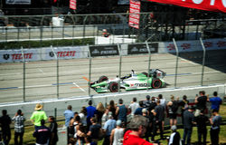 Sebastian Burdais at the Toyota Grand Prix of Long Beach Royalty Free Stock Images