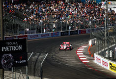 Sebastian Burdais at the Toyota Grand Prix of Long Beach Royalty Free Stock Photos