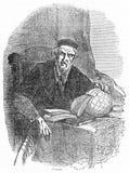 Sebastian Cabot, un esploratore italiano illustrazione di stock