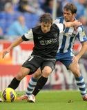 Sebastian Fernandez of Malaga CF Stock Photography