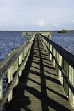 Sebastian, Florida with Blue Sky. Stock Photo