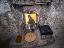 Sebastian Israel - Juli 11 2015 r Traditionellt ställe av den första gravvalvet Arkivbild